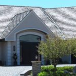 Gray home and driveway