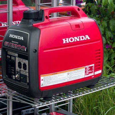 Honda Portable Generator and Trademark Logo